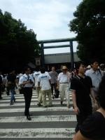 日本の夏。靖国の夏。