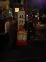 大晦日は氏神様の三崎神社の福餅つき