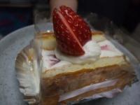 靖国神社前『ゴンドラ』のケーキ